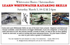 whitewater basics march 5