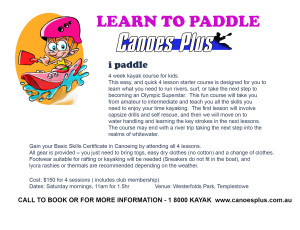 brochure i paddle